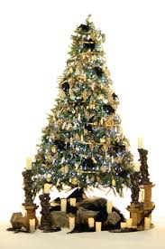 baby nursery lovable christmas tree hire black gold fully