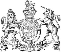 the great seal of great britain and ireland clipart etc