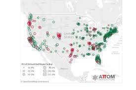 Metro Atlanta County Map by Study Affordability In Atlanta U0027s Fulton County Increased Last