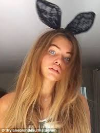 sandra orlow childhood pictures thylane blondeau earns new found fame on instagram with 600k