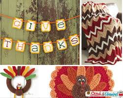 27 terrific thanksgiving crochet patterns stitch and unwind
