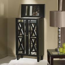 Jewelry Mirror Armoire Furniture Black Cheval Mirror Jewelry Armoire Design Ideas For