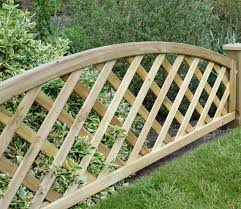 madeley convex lattice trellis 1 8m x 0 5m from grange
