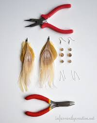 how to make feather earrings how to make feather earrings feathers craft and jewelry ideas
