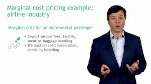 marginal costs marginal cost pricing airline industry example university of