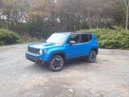 jeep trailhawk blue test drive 2015 jeep renegade trailhawk haligonia ca