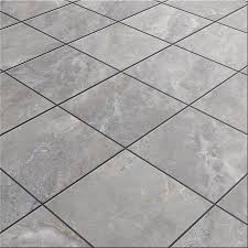 shop style selections tousette gray ceramic floor tile common 13