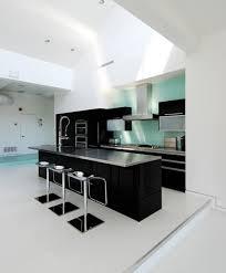 Small Black And White Kitchen Ideas Modern Minimalist Kitchen For Apartment Interior Pinterest