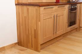 Installing Cabinet End Panels In Solid Oak Kitchens Solid Wood