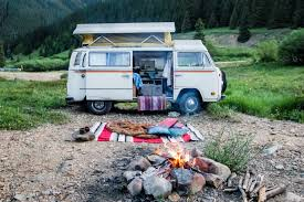 old rusty volkswagen kim u0026 nash in a vw bus u2014 tiny house tiny footprint