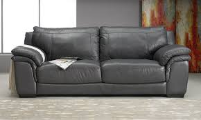 Furniture Leather Sofa Graphite Leather Sofa The Dump America U0027s Furniture Outlet