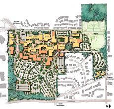 Evcc Campus Map Bellevue College Master Plan Lmn Architects Seattle