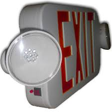 exit emergency light combo siltron mpxl 2h mini series plastic led exit emergency light combo
