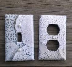 Shabby Chic Switch Plate by Diy Vintage Switch Plate Covers That Diy Party Highlights