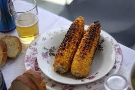 cuisiner des epis de mais recette epi de maïs grillé kalaboki cuisine grecque