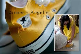 Wedding Shoes Converse Ang Babaeng Lakwatsera My Wedding Shoes Converse Yellow Chuck