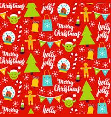merry christmas maori zealand pattern vector image