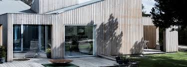 complex roofline single family house in copenhagen by sigurd