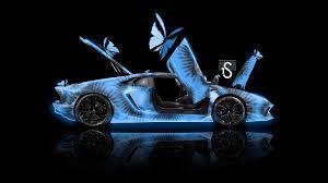 Lamborghini Aventador Open Door - lamborghini aventador side open doors kiwi aerography butterfly