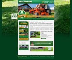 Mowing Business Cards Ames Lawn Care Legitdesigns