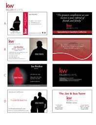 Keller Williams Business Cards Printing Connection Keller Williams Business Cards