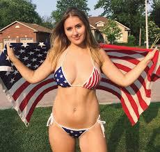 Rebel Flag Swimsuits Girls In American Flag Bikinis A 10 Year Iab Tradition I Am Bored