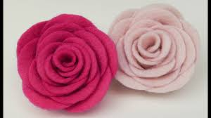 felt flowers how to make felt roses i easy felt flower