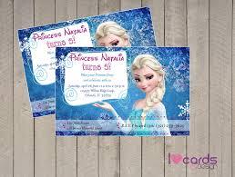 Frozen Invitation Cards Frozen Invitation I Love Cards U0026 Design