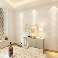 buy magideal 60 60cm white 3d brick wall sticker self adhesive
