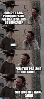 Carl Rick Meme - tanné noir carl et rick meme on memegen