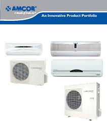 amcor air conditioner uchw h12cf2 user guide manualsonline com