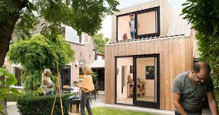 Backyard Photography Studio A Painting Studio Was Designed For The Backyard Of This Dutch