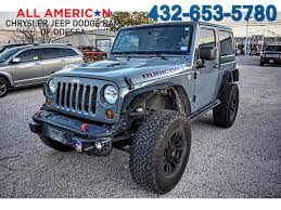 jeep gray blue jeep wrangler in odessa tx all american chrysler jeep dodge of