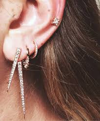 badass earrings if you like sparkles and diamonds 23 delicate and oh so pretty