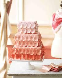 wedding cake gum pink and wedding cakes martha stewart weddings