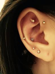 conch piercing cuff best 25 ear piercings conch ideas on conch ear