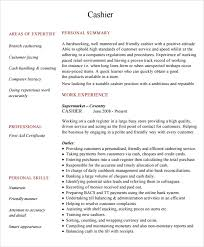 objective for cashier resume resume sample cashier skills for