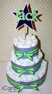 My Football Diaper Cake Creation My Work Sewing Creations