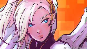 anime halloween backgrounds women nature mercy overwatch wallpapers hd desktop and