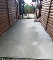 Stain Old Concrete Patio by Spice Up Your Worn Concrete Patio With Flo Coat Resurface By Sakrete