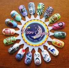 amazon com paw prints water slide nail art decals salon quality