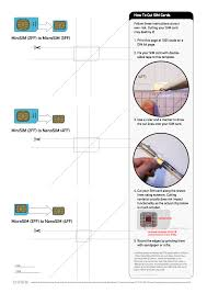 manual for iphone 5c printable guide for cutting microsim to nano sim for iphone 5