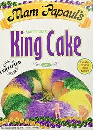 new orleans king cake delivery mam papaul s mardi gras king cake kit with praline