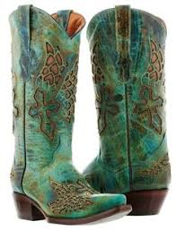 ebay womens cowboy boots size 11 womens brown turquoise robin leather rodeo cowboy