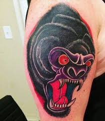 what are the best tattoo designs featuring a silverback gorilla