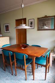 Modern Wood Dining Room Tables 672 Best Mid Century Dining Rooms Images On Pinterest