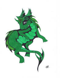 baby cute dragon tattoo colored by sblack397 on deviantart