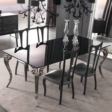 Black Dining Table Large Black Glass Dining Table Set Juliettes Interiors Chelsea