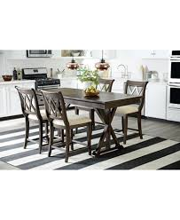 Baker Dining Room Table And Chairs Baker Trestle Pub Dining Furniture Collection Furniture