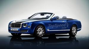bentley wraith convertible large top speed